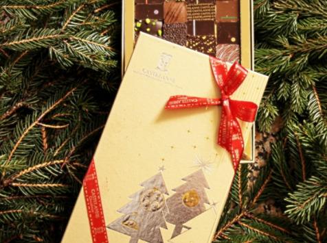 Maison Castelanne Chocolat - Coffret Noël Assortiment 24 Chocolats