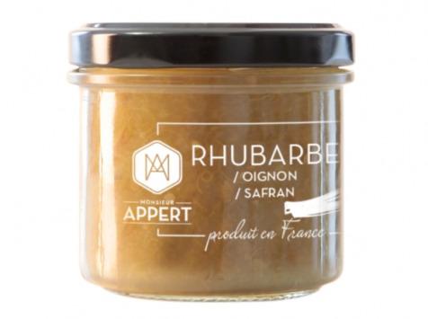 Monsieur Appert - Chutney Rhubarbe/oignon/safran