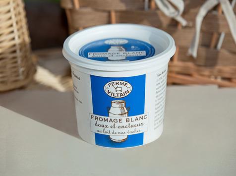 La Ferme de Viltain - Fromage Blanc Lisse 8%