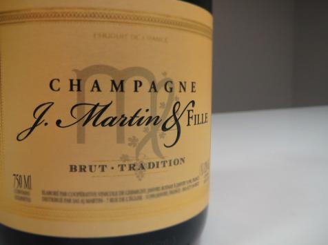 Champagne J. Martin et Fille - Brut Tradition - 6x75cl