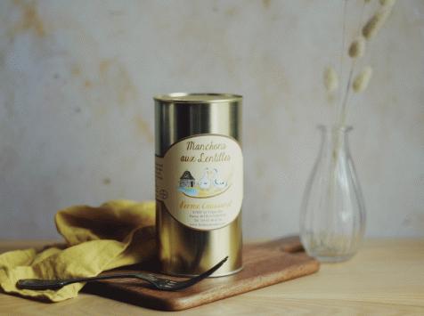 Ferme Caussanel - Manchons de Canard aux Lentilles