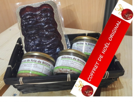 Bisons d'Auvergne - Coffret 'les Apéros Bison'