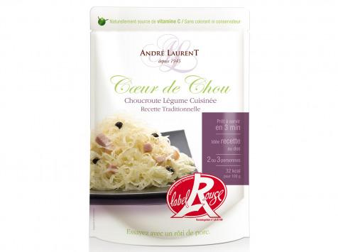 """Choucroute André Laurent - Choucroute Légume """"coeur De Chou"""" Recette Traditionnelle"""