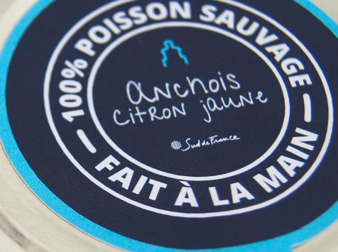 Côté Fish - Mon poisson direct pêcheurs - Petits Pots du Grau Anchois Citron jaune