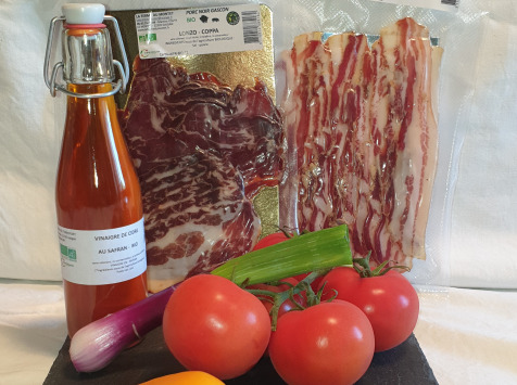 La Ferme du Montet - Kit pour salade composée - 3 produits