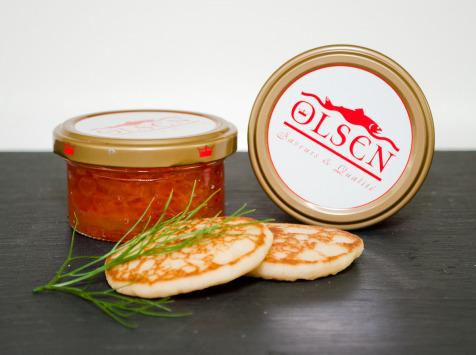Olsen - Oeufs de saumon keta, verrine 100g