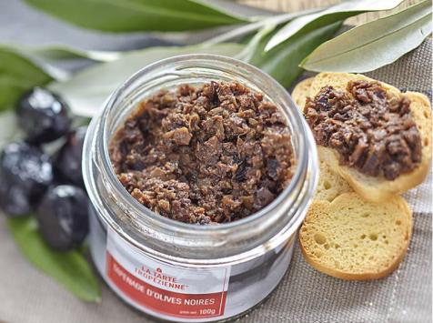 La Tarte Tropézienne - Tapenade d'olives noires