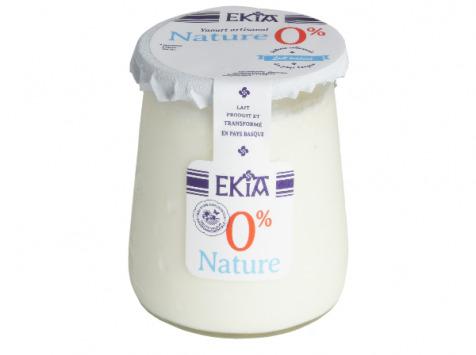 BASTIDARRA - Yaourt 0% Nature - 8 Pots