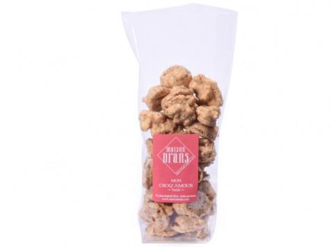 Biscuiterie Maison Drans - Croq'amour à la Vanille - 100 g
