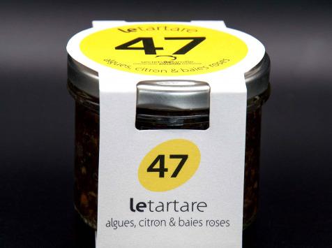 Secrets de Famille - Tartare d'Algues - Citron & Baies Roses