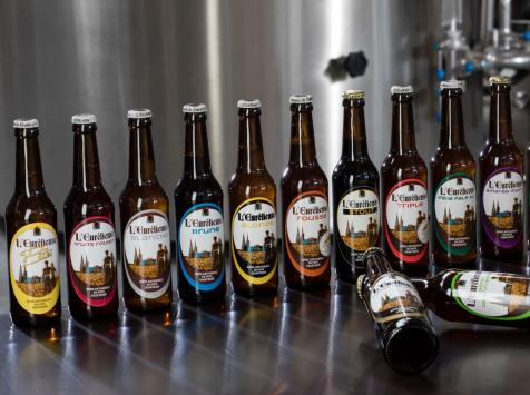 """L'Eurélienne - Brasserie de Chandres - Assortiment """"Découverte"""" - 12 Bières L'Eurélienne 33cl"""