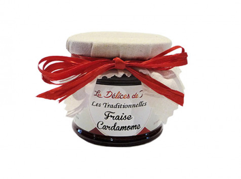Fromagerie Seigneuret - Confiture Fraise Cardamome