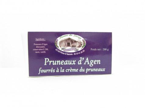 Ferme du Lacay - Pruneaux D'agen Fourrés À La Crème De Pruneaux - 200g