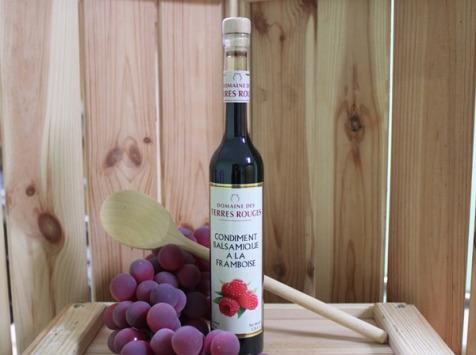 Domaine des Terres Rouges - Vinaigre Balsamique à la Framboise 10 cl