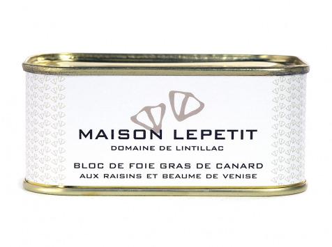 Maison Lepetit - Bloc De Foie Gras Aux Raisins Et Beaumes De Venise