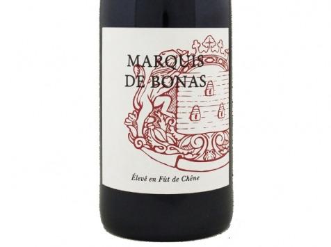Bonas Lisse Vignoble - Marquis de Bonas Rouge 2016 - IGP Agenais x6