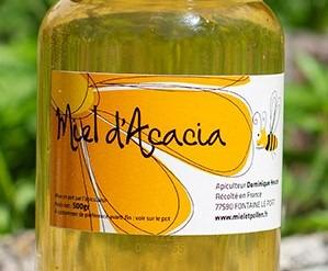 Miel et Pollen - Miel D'acacia 250g