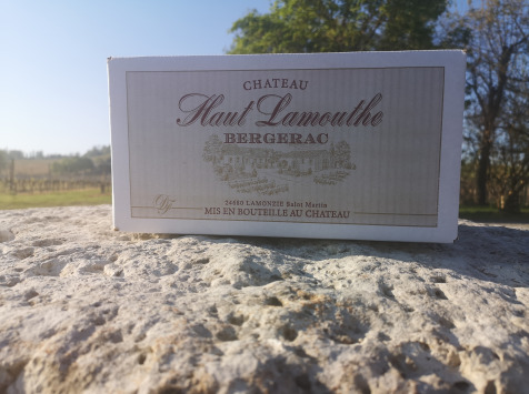 Château Haut-Lamouthe - Bergerac Blanc Sec AOC - 6x75cl