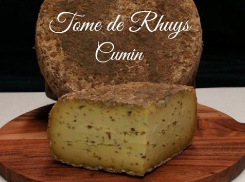 Tome de Rhuys - Tome De Rhuys Cumin- Quart De Tome