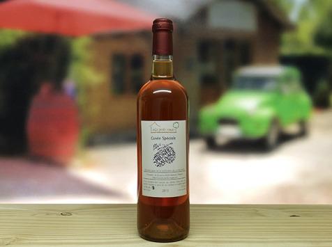 Les Perles Rouges - ''Vin De Prune Sauvage'' - 75cl - Cuvée Spéciale