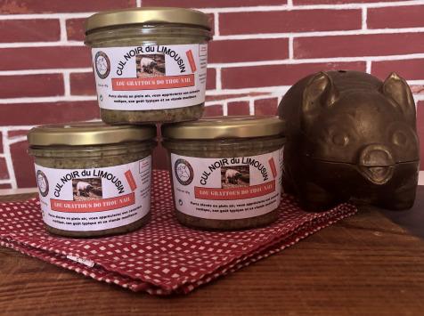 Champ Roi des Saveurs - Gratons de Porc Cul Noir - 180 g