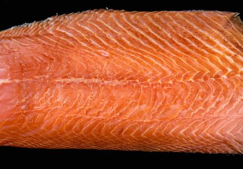 Fumaison Occitane - Filet de Saumon Bio Fumé À Froid Tranché (mini 20 Tranches)