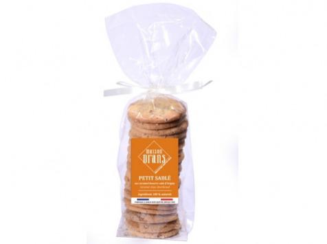 Biscuiterie Maison Drans - Sablé aux Éclats de Caramel d'Isigny - 200 g