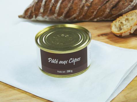 A la Truffe du Périgord - Pâté Aux Cèpes 200g