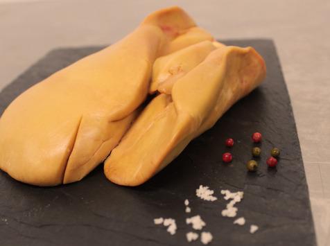 La Ferme du Luguen - Foie Gras de Canard Cru Extra Déveiné - 550g