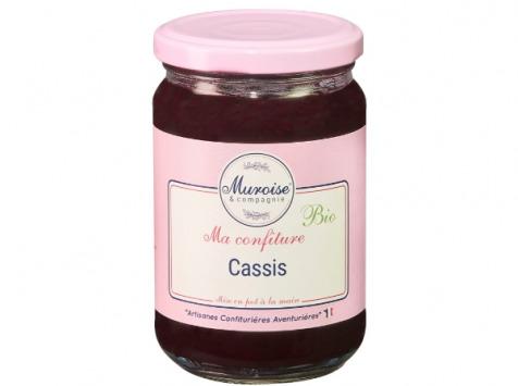 Muroise et Compagnie - Confiture de Cassis Bio - 350 gr