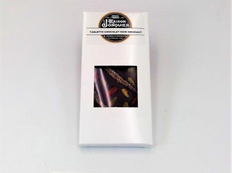 Maison Jonquier - Chocolat Noir Mendiants – 62 % de Cacao – 100g