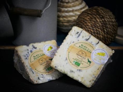 Ferme de La Tremblaye - Bleu de La Boissière Fermier Bio Portion 220g