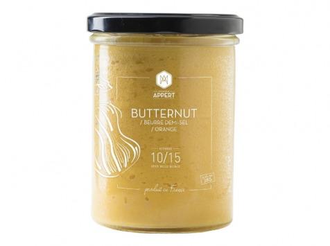 Monsieur Appert - Butternut/beurre Demi Sel/zeste Orange