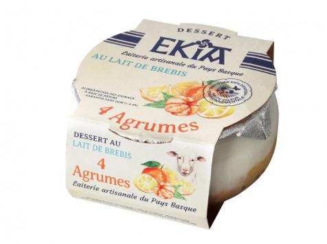 BASTIDARRA - Douceur De Brebis 4 Agrumes - 8 Pots