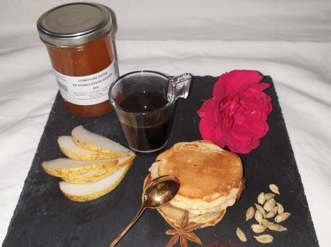 La Ferme du Montet - Confiture Extra de poires épices douces BIO - 220 g