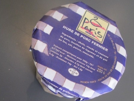 Maison Paris - Foie Gras depuis 1907 - Hure De Porc Fermier