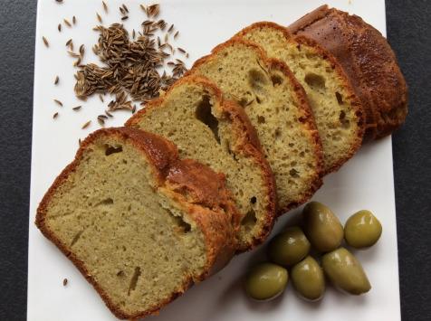 Les Cannelés d'Audrey - Cake Méditerranéen Au Cumin Sans Gluten