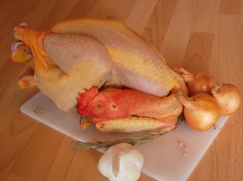 La Ferme de Bonneval - Poulet Fermier Bio (environ 2 kg)