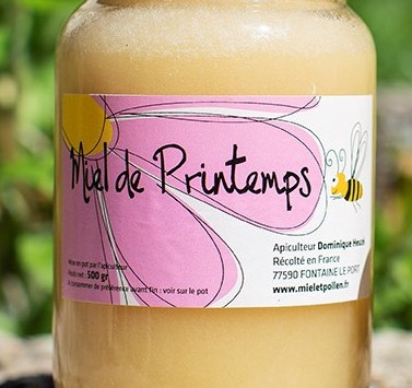 Miel et Pollen - Miel de Printemps - 500 gr