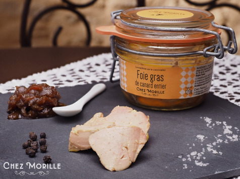 Chez Morille - Foie Gras De Canard Entier Cuit 120 G