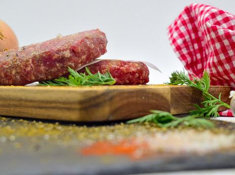Michel et Alain Fermiers BIO - [SURGELE] Steaks Hachés de Bœuf BIO – 8x120 g