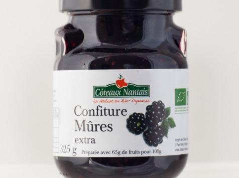 Les Côteaux Nantais - Confiture Mûres Extra 325g