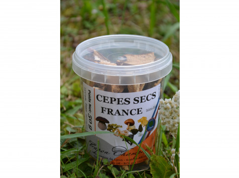 Trapon Champignons - Cèpes Secs - 50 G