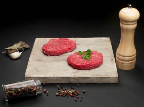 Nature et Régions - Steak À Burger De Boeuf - 2 X 130 G