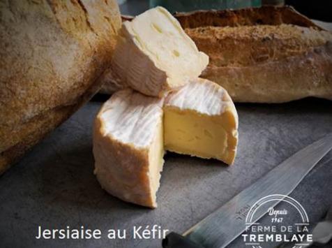 Ferme de La Tremblaye - Jersiaise au Kefir Fermier Bio