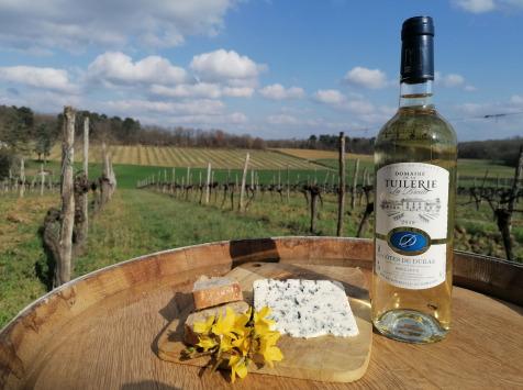 Domaine de la Tuilerie - AOP Côtes de Duras - Blanc Moelleux 2019-Domaine de La Tuilerie Labreille-1 x75 cl