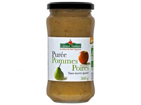Les Côteaux Nantais - Purée Pommes Poires 360g Demeter