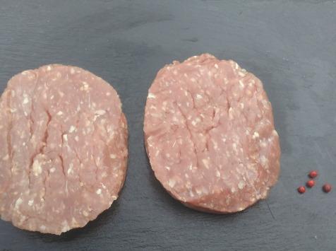 La Ferme du Poublanc - Famille LAFFARGUE - [Précommande] Steaks Hachés de Veau x2 - salers en Conversion Bio