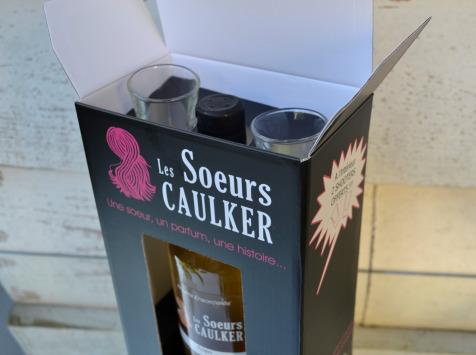 Les Soeurs Caulker - Rhums ensorcelés - Coffret Cadeau Anita (ananas, Noix De Coco, Gousses De Vanille)