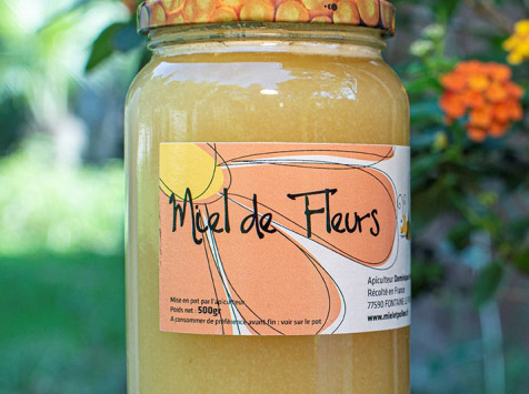 Miel et Pollen - Miel De Fleurs 250g